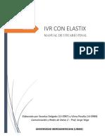 Manual IVR Con Elastix