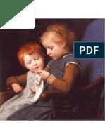 Anker Die Kleinen Strickerinnen 1891