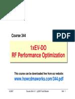 RF344 EVDO RF Optimization