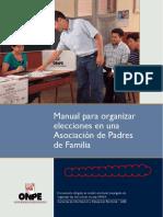 Manual Elecciones Asociacion Padres Familia