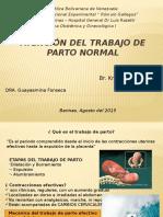 Atención Del Trabajo de Parto Normal obstetricia