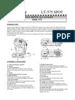 Manual Cabeza Movil