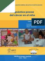 Diagnostico Precoz Del Cancer en El Niño