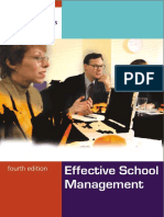 Efective School Management
