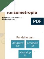 anisometropia