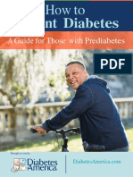 How To Prevent Diabetes - A Guide For Those With Prediabetes