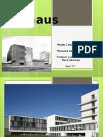 Bauhaus Trabajo Final