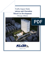Montrose-Clarendon Traffic Study Jan. 14, 2016