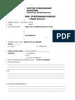 Format Laporan Kursus Ladap