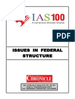 Issues in Federal Structure