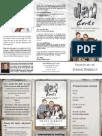Dad Cents Seminar Brochure