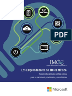 Los Emprendedores de TIC en Mexico