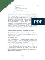 Factorización LU