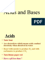 acids and bases - an introduction ppt