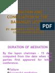 Lecture-mediation Baguio Gm