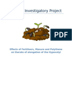 291918359 Biology Investigatory Project