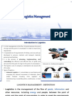 1. Logistic Management