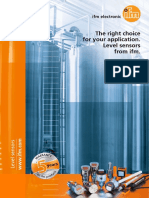 Ifm the Right Choice for Your Application Level Sensors From Ifm
