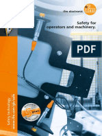 Ifm Safety for Operators and Machinery