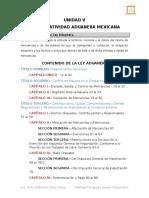 Derecho Aduanero - UNIDAD V
