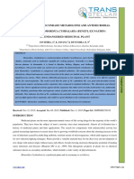 8. Ijmps - Extraction of Secondary Metabolites and Antimicrobial Studies