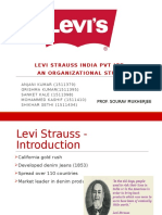 Levis Org Structure PPT