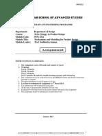 Assignment PDN2522 PT 2012