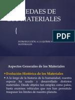 1.-Introducción Quimica de Los Materiales
