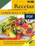 Recetas de verduras y frutas