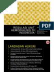 Regulasi Unit Hemodialisis Di Indonesia