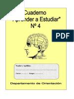 Cuaderno de aprendizaje de estudio