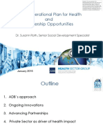 ADB's Operational Plan for Health and Partnership Opportunities