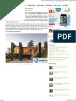 Desain Rumah Panggung Modern Terbaru 2015