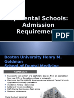 a dental school application essay dentistry applied psychology top dental schools admission requirements