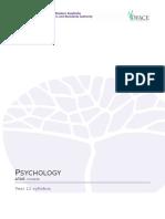 psychology y11 syllabus atar