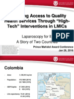 "Improving Access to Quality Health Services Through ""High-Tech"" Interventions in LMICs"