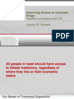 Improving Access to Innovator Drugs