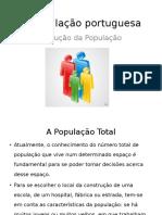 Evolução População Portuguesa