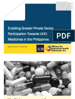 Enabling Greater Private Sector Participation Towards UHC