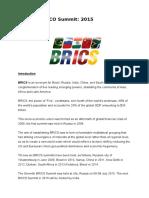 Brics and Sco Summit