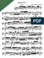 Bach Sonatas and Partitas for Solo Violin