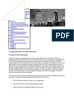 Organization and Use of Project Information