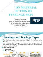 Study on Material Selection of Fuselage Skin - Copy