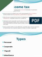 Income Sales Tax