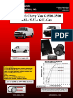 Chevy Van 4.8 5.3 6.0L Gas 2013-2003