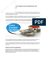7 Must Do Things on Property Loan Prepayment and Closure Procedure