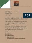 HPHS Gelasius Letter Signed