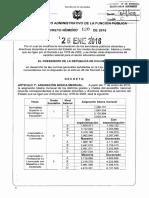 Decreto 120 Del 26 de Enero de 2016