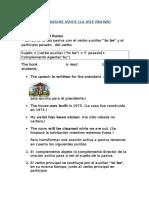 Passive Voice(Grammar y Ejercicios)
