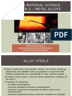 Chapter 5 - Metal Alloys